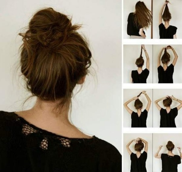 How to : make a bun