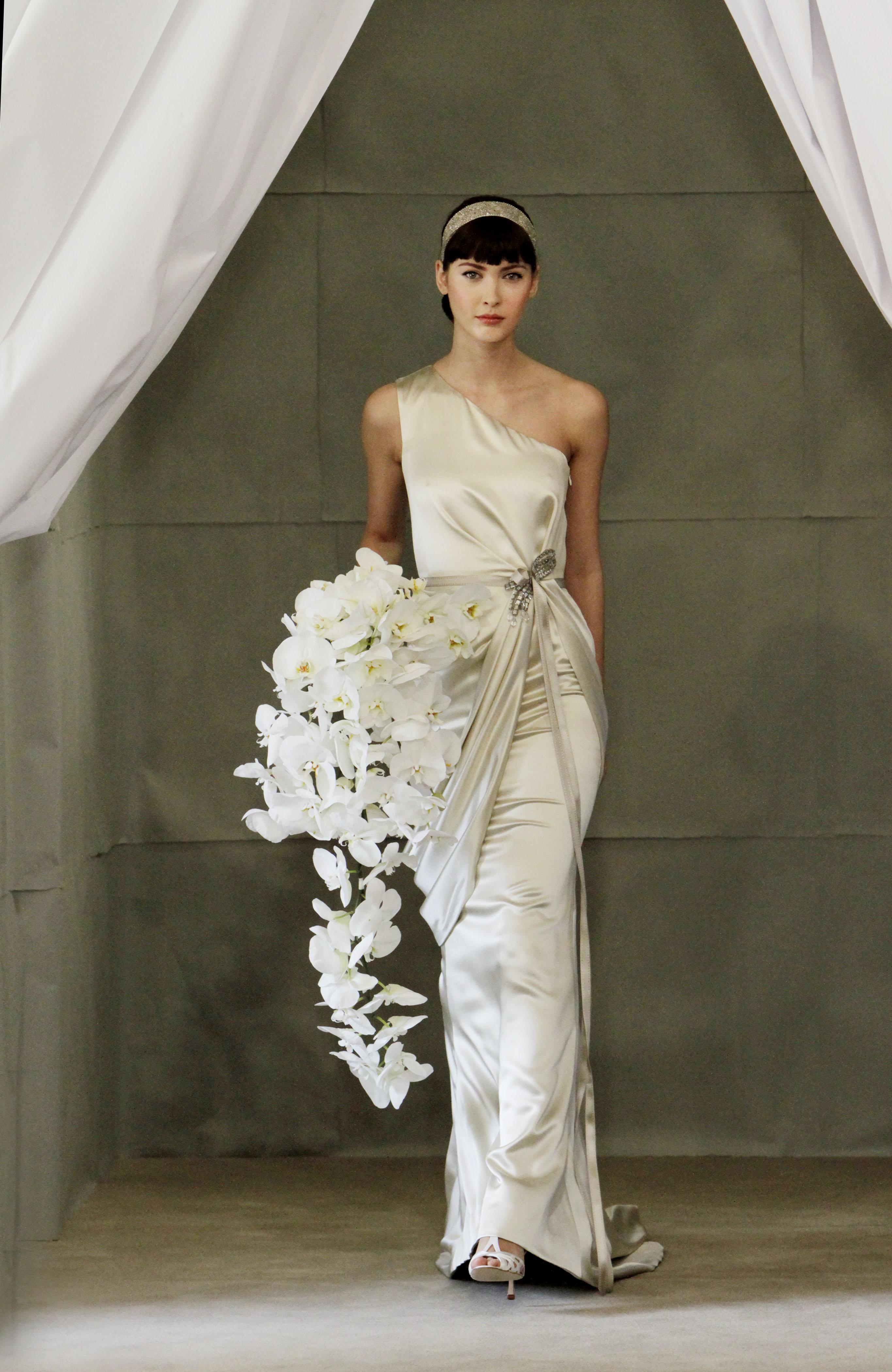 Carolina Herrera Bridal SS13 lacedinleather