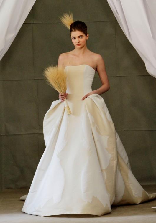 Carolina Herrera bridal runway show