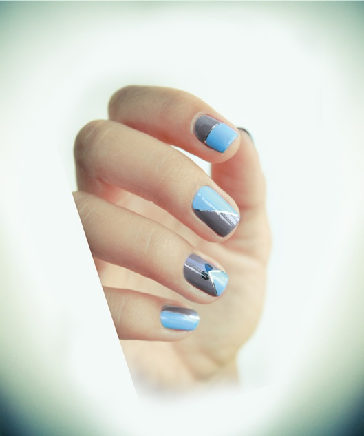 NAIL ART_NOEUD