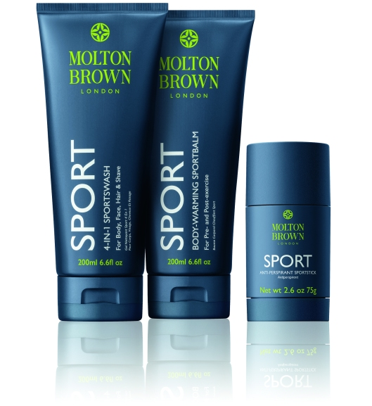 Molton Brown Sport - group shot